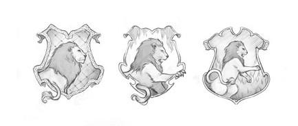 Potterish :: Harry Potter, o Ickabog, Animais Fantásticos e JK Rowling Veja o processo de criação dos emblemas da Corvinal e Grifinória para o Pottermore