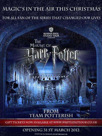 """Potterish :: Harry Potter, o Ickabog, Animais Fantásticos e JK Rowling WB lança aplicativo de """"Boas Festas"""" para promover o <i>The Making of Harry Potter</i>"""