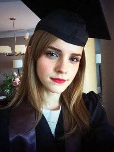 Emma Watson formanda