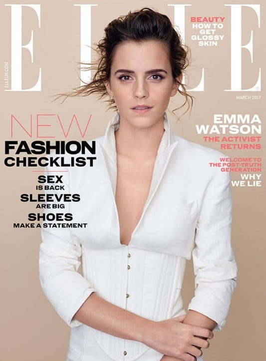 Potterish.com [Year 18] :: Harry Potter, The Ickabog, Fantastic Beasts, JK Rowling, Daniel, Emma & Rupert Emma Watson is awarded Woman of the Year by Elle magazine
