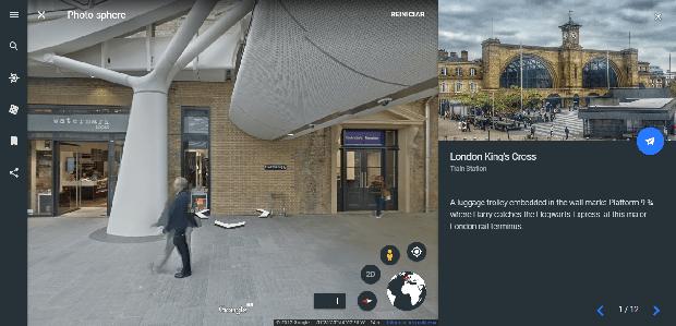 Potterish :: Harry Potter, o Ickabog, Animais Fantásticos e JK Rowling Google Earth celebra 20 anos de Harry Potter com tour por locais relacionados à série