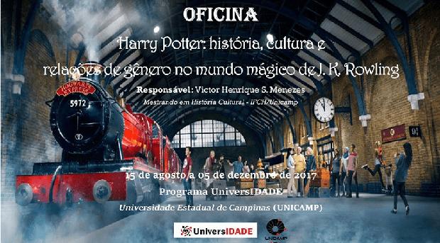 Potterish :: Harry Potter, o Ickabog, Animais Fantásticos e JK Rowling Unicamp oferece curso sobre Harry Potter para pessoas de meia e terceira idade