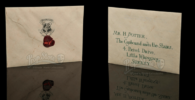 Potterish.com [Year 18] :: Harry Potter, The Ickabog, Fantastic Beasts, JK Rowling, Daniel, Emma & Rupert ORIGINAL HOGWARTS ACCEPTANCE LETTER IS AUCTIONED FOR OVER 30.000 POUNDS