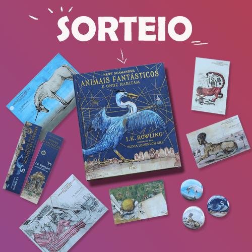 Potterish :: Harry Potter, o Ickabog, Animais Fantásticos e JK Rowling SORTEIO: Edição Ilustrada de Animais Fantásticos