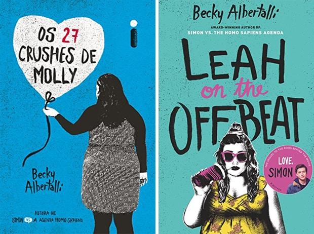 Capas dos outros livros de Becky.