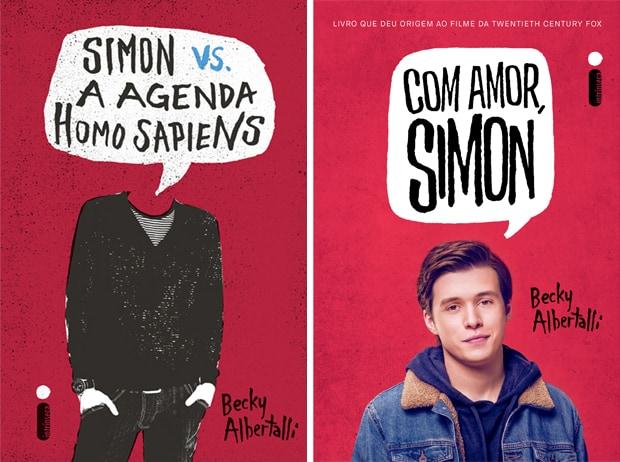 Capas de Com Amor, Simon