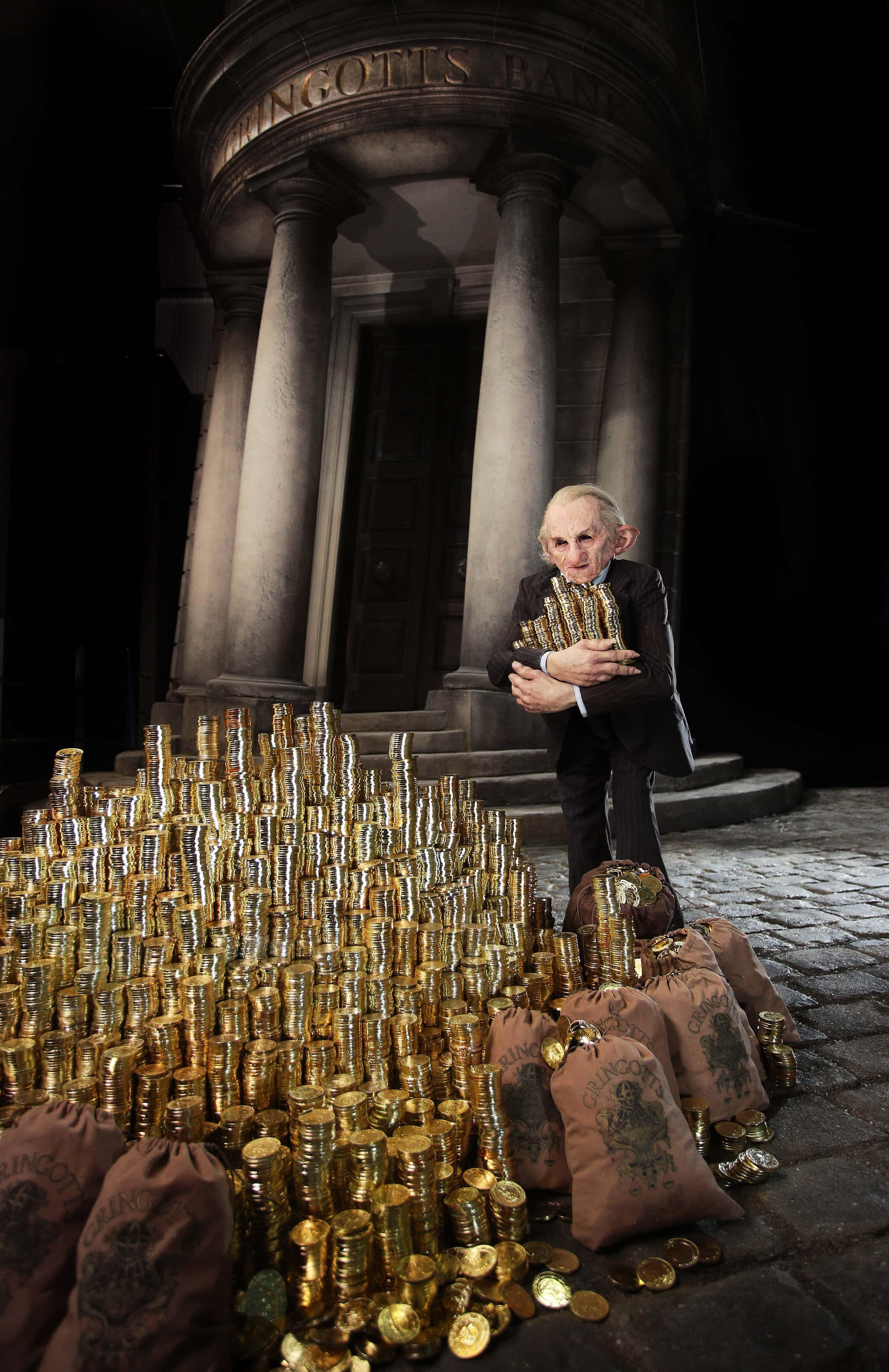 Potterish :: Harry Potter, o Ickabog, Animais Fantásticos e JK Rowling Fãs poderão visitar Banco de Gringotes na Inglaterra