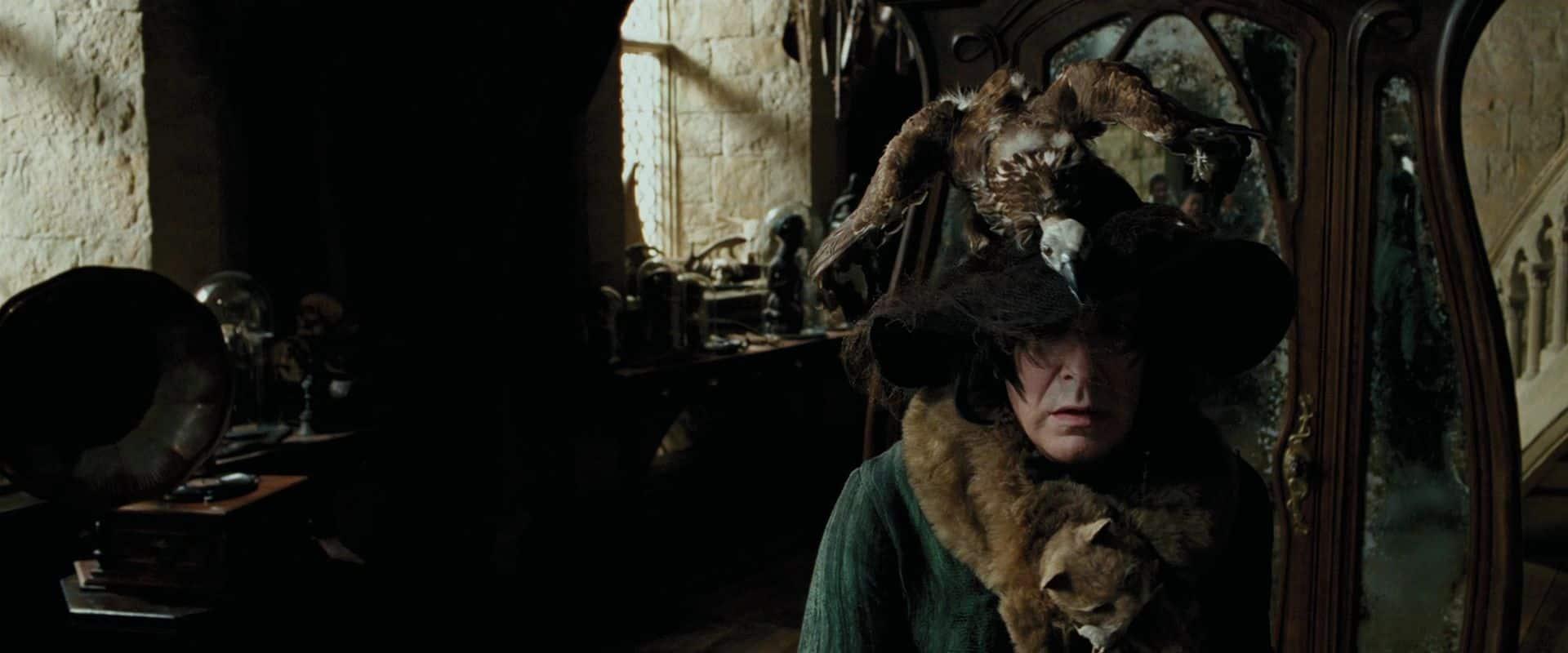 Severo Snape escolheu a profissão errada