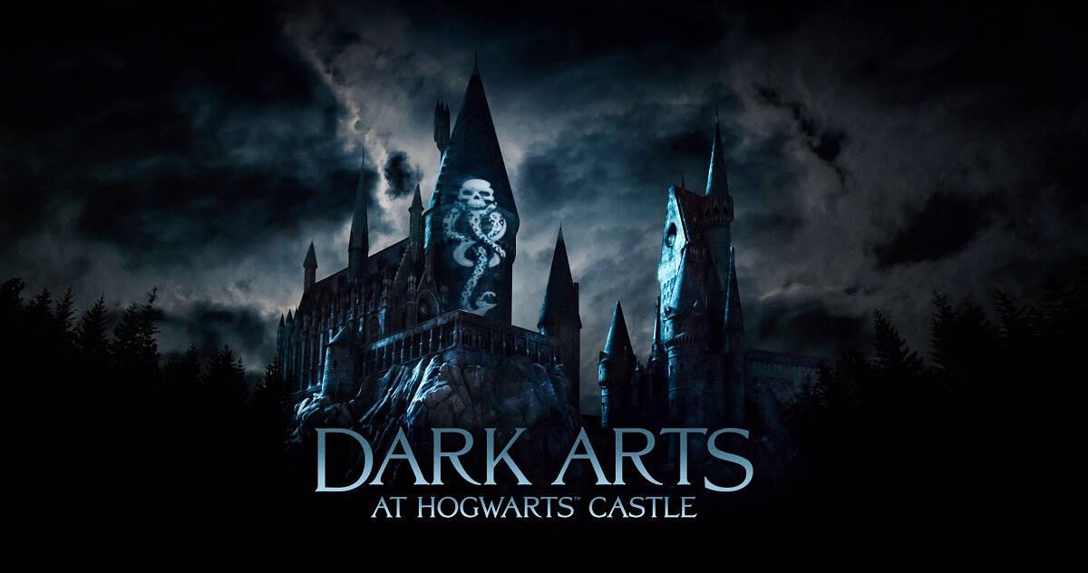 Potterish :: Harry Potter, o Ickabog, Animais Fantásticos e JK Rowling Castelo de Hogwarts exibirá projeção das Artes das Trevas nos parques de Harry Potter