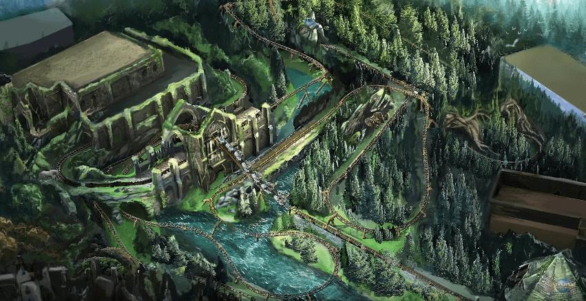 Potterish :: Harry Potter, o Ickabog, Animais Fantásticos e JK Rowling Nova montanha-russa de Harry Potter será um passeio de até 80km/h pela Floresta Proibida