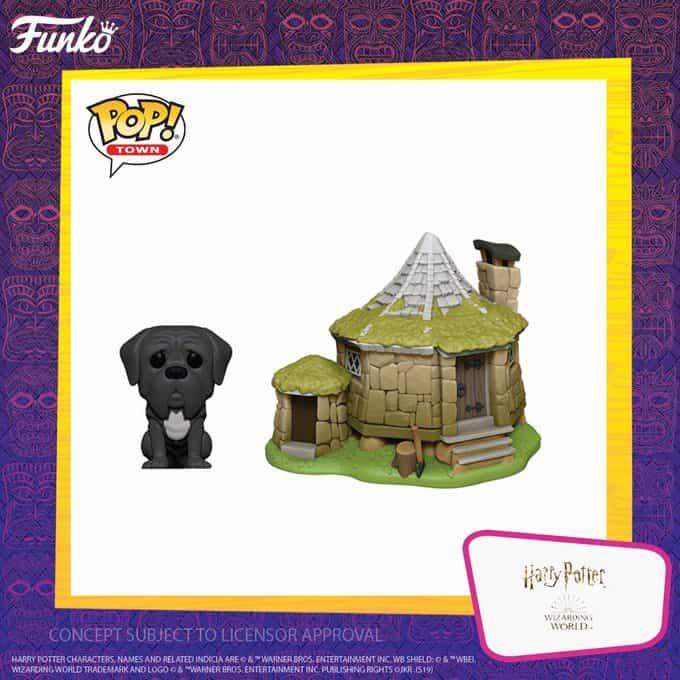 Potterish :: Harry Potter, o Ickabog, Animais Fantásticos e JK Rowling Cabana de Hagrid e Canino ganharão colecionáveis da Funko