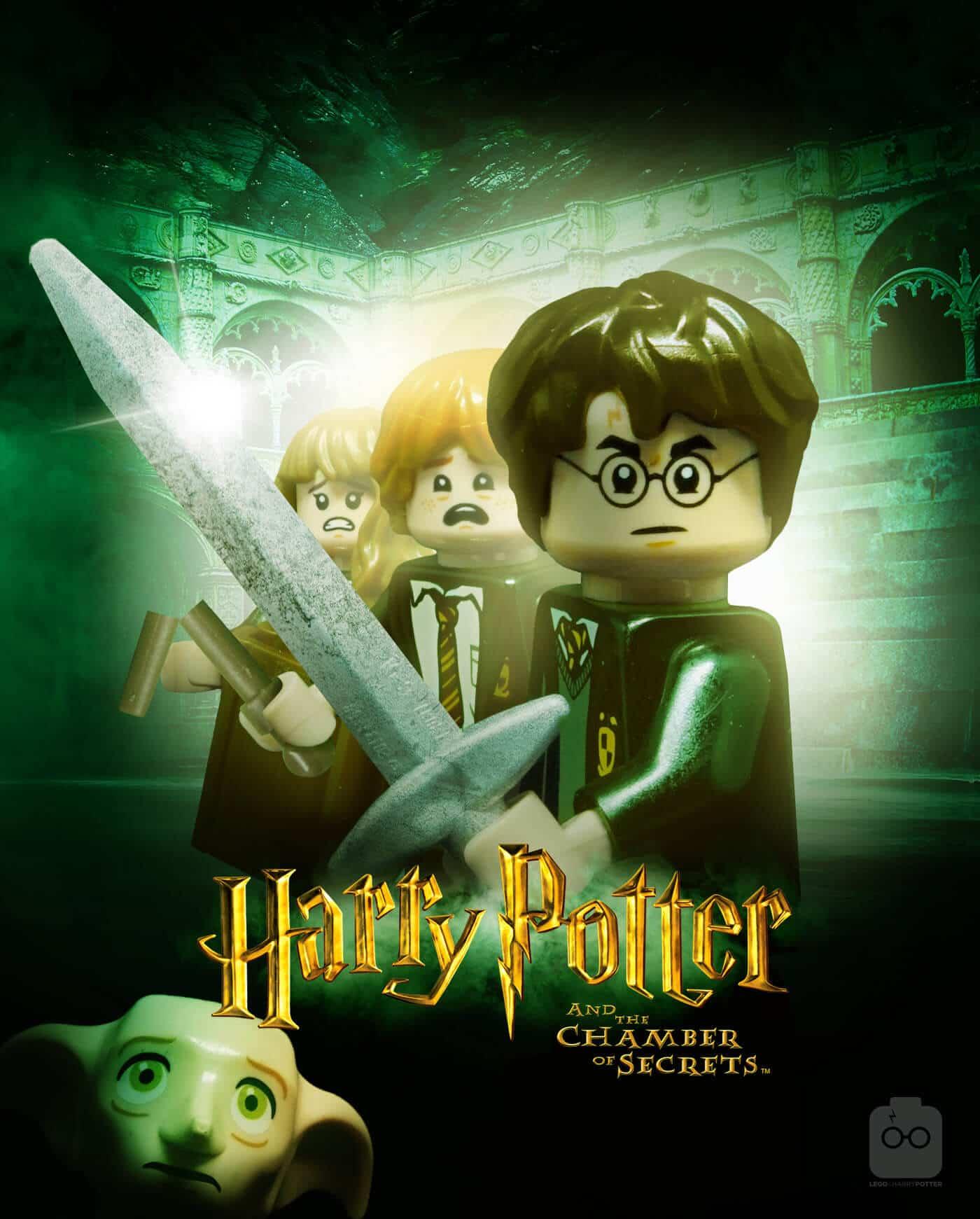 Potterish :: Harry Potter, o Ickabog, Animais Fantásticos e JK Rowling Diretor de arte recria pôsteres de Harry Potter com bonecos da LEGO