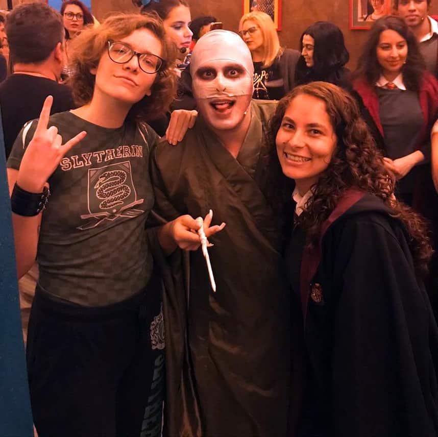 Julian De Divitiis veste cosplayer de Draco Malfoy