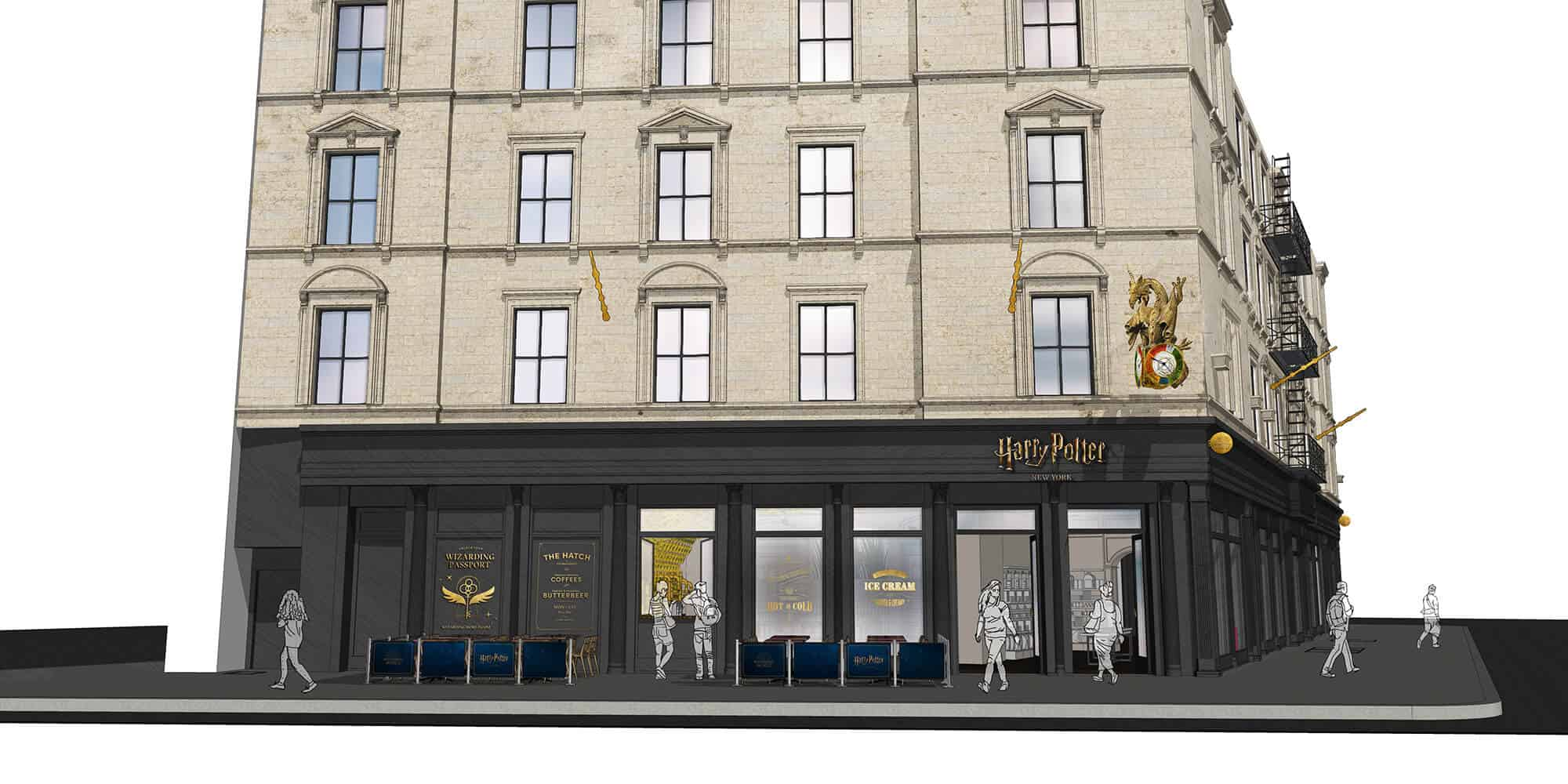 Com três andares, maior loja de Harry Potter será aberta em Nova York