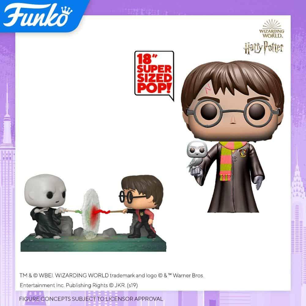 Potterish :: Harry Potter, o Ickabog, Animais Fantásticos e JK Rowling Harry Potter duela com Voldemort em novos colecionáveis da Funko