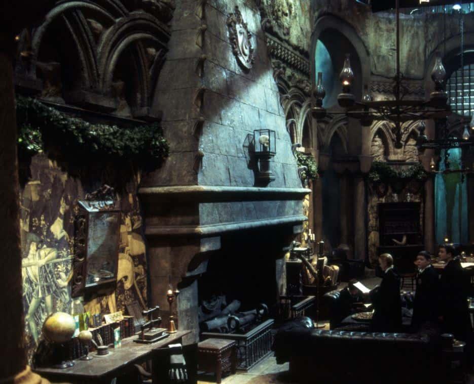 Potterish Fãs podem visitar a Sala Comunal da Sonserina no estúdio de Harry Potter na Inglaterra