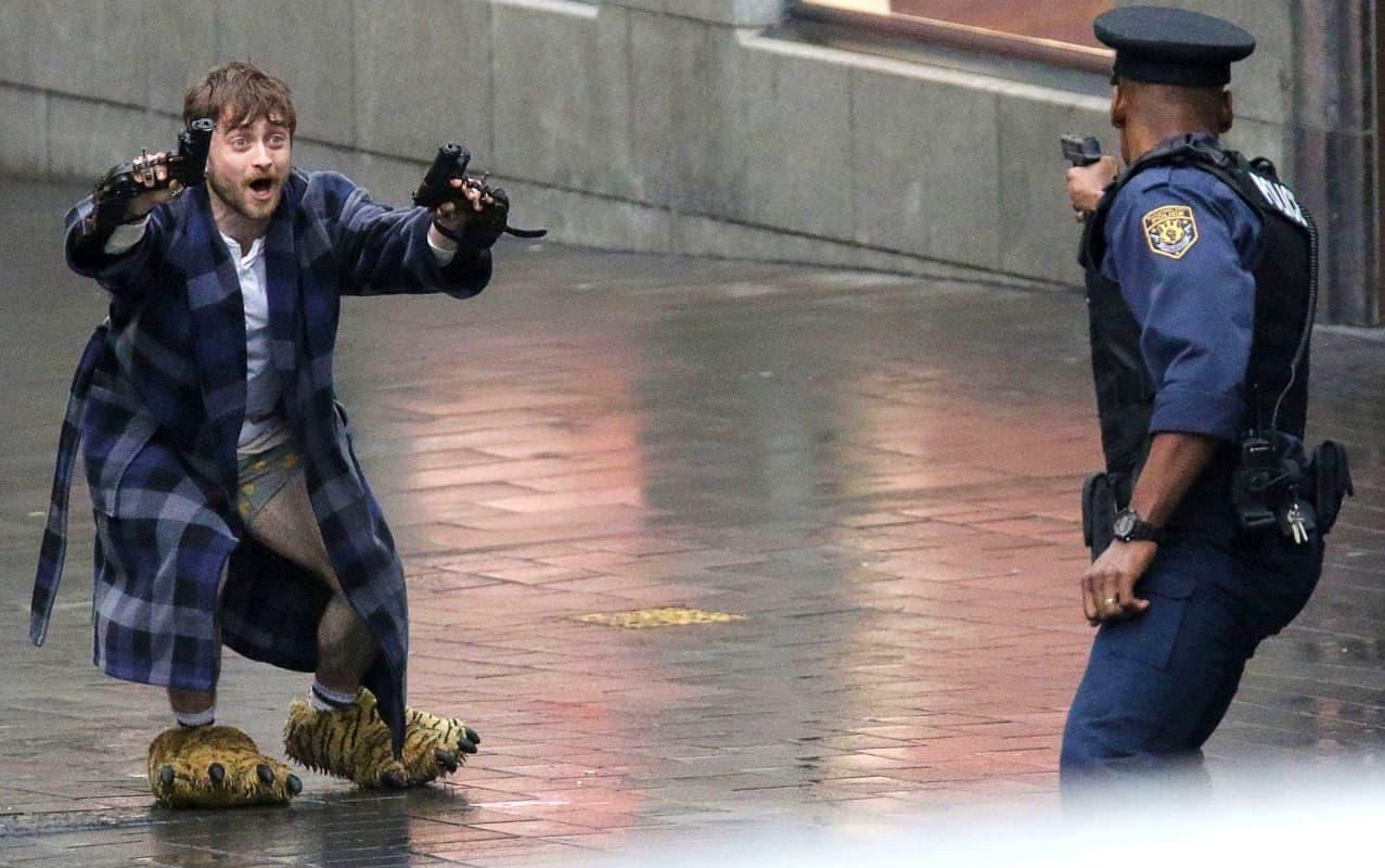 Daniel Radcliffe interpreta gangaster