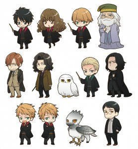 Harry Potter Kawaii