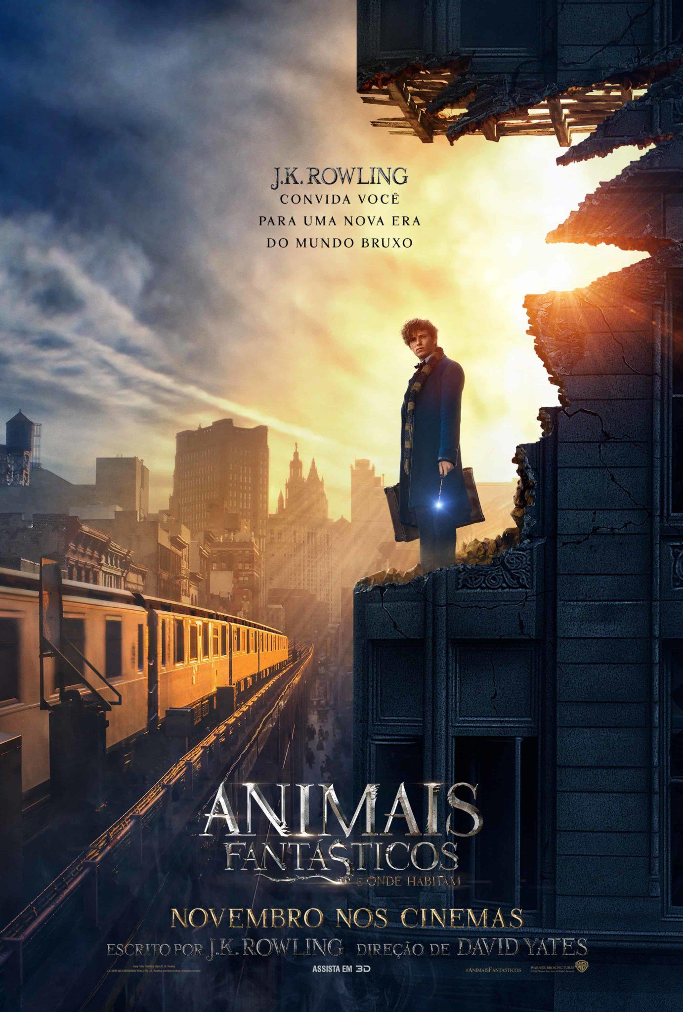 Animais Fantasticos - Newt