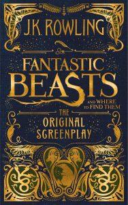"""0FB screenplay HiRes 188x300 - Revelada capa do roteiro de """"Animais Fantásticos"""""""
