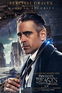 Colin Farrell é Percival Graves