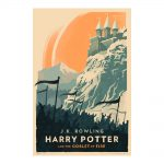 """Olly Moss Goblet 150x150 - Visual artist Olly Moss releases vintage """"Harry Potter"""" posters"""