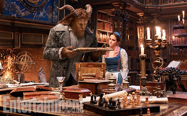 Dan Stevens (Beast) e Emma Watson (Bella)