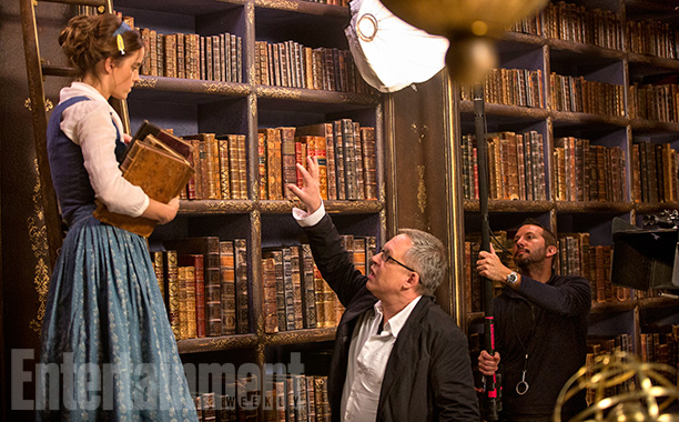 Emma Watson and director Bill Condon