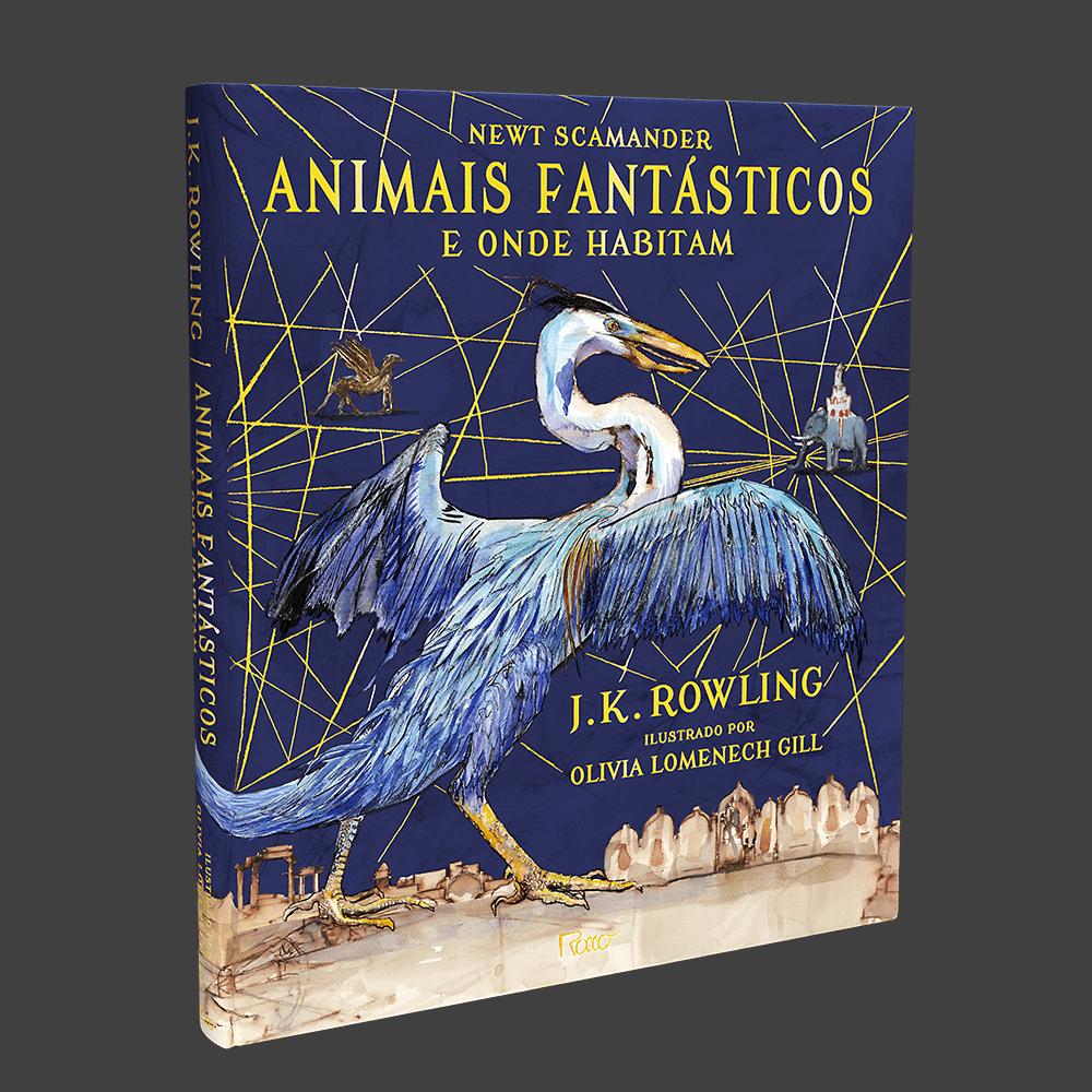 Potterish :: Harry Potter, o Ickabog, Animais Fantásticos e JK Rowling Editora Rocco publicará edição ilustrada de Animais Fantásticos em novembro