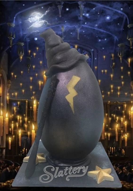 Easter Egg inspired by Harry Potter