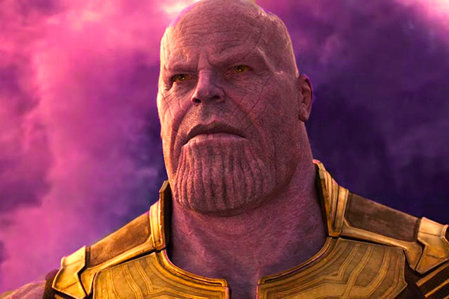 Thanos em Vingadores