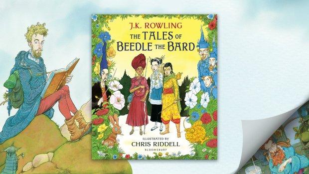 beedle-the-bard-chrsi-riddell-illustred