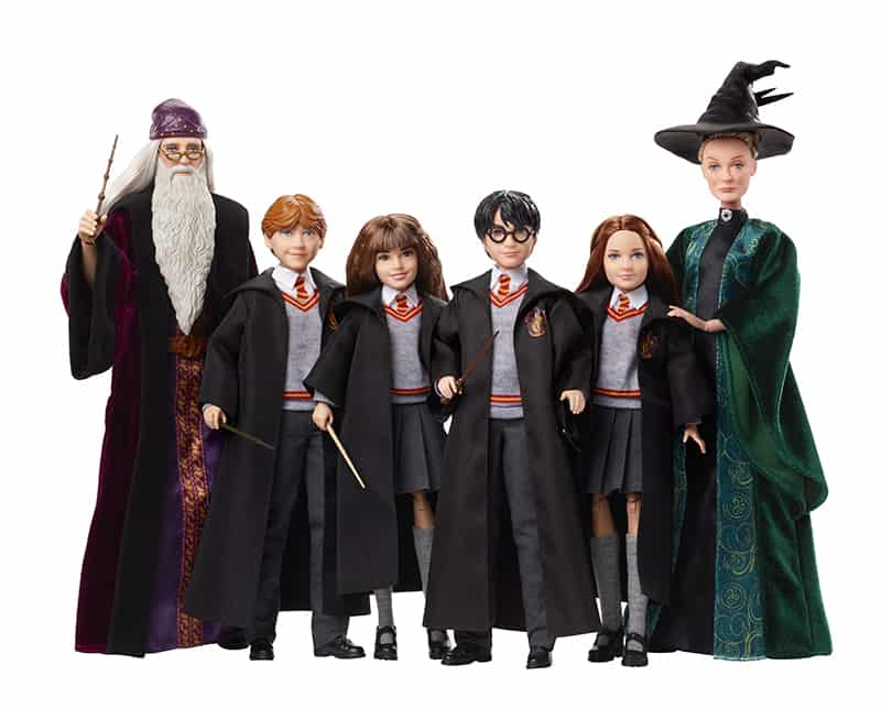 Potterish :: Harry Potter, o Ickabog, Animais Fantásticos e JK Rowling Mattel lançará linha de bonecos da série Harry Potter