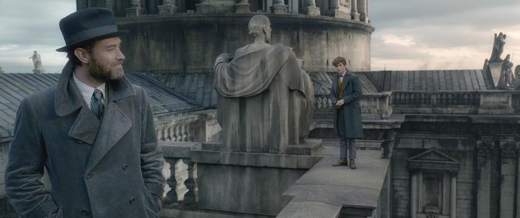Potterish A relação entre Newt e Tina regrediu, revelam os atores