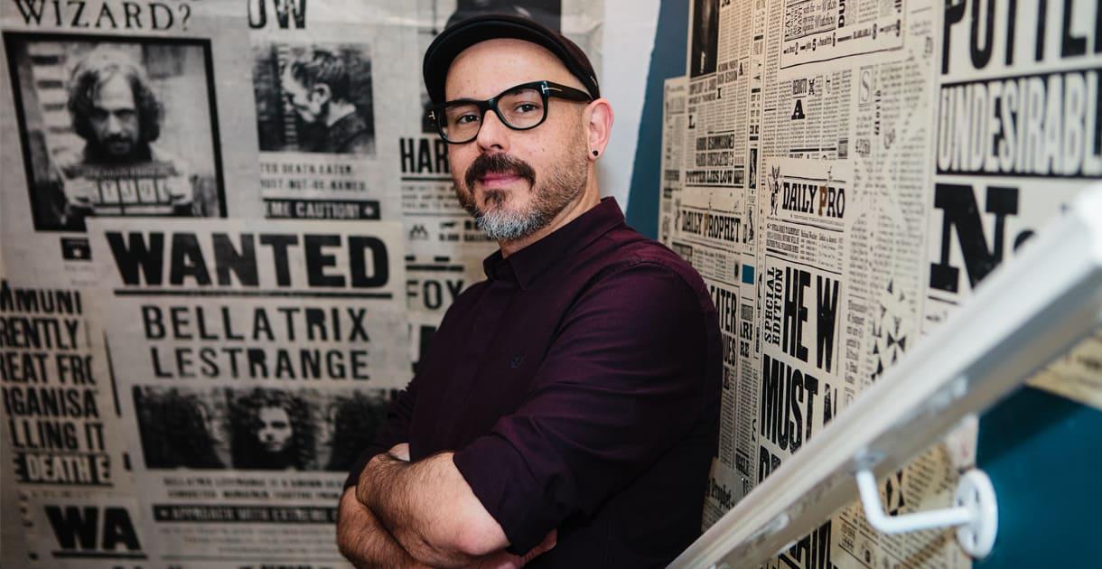 Potterish Designer gráfico brasileiro de Harry Potter virá à Comic Con Experience