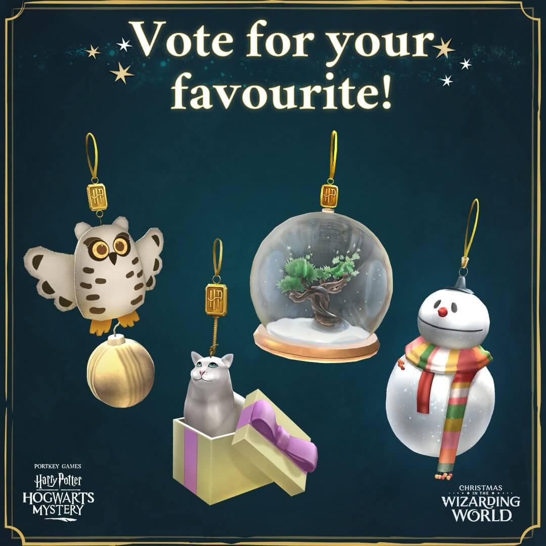 Potterish.com [Year 18] :: Harry Potter, The Ickabog, Fantastic Beasts, JK Rowling, Daniel, Emma & Rupert The game Hogwarts Mystery releases Christmas event