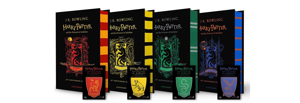Potterish.com [Year 18] :: Harry Potter, The Ickabog, Fantastic Beasts, JK Rowling, Daniel, Emma & Rupert Prisoner of Azkaban will be released in the Hogwarts Houses edition