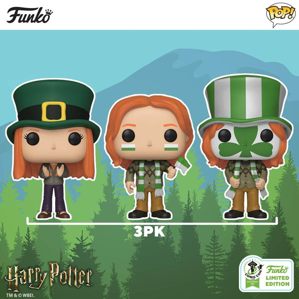 Potterish.com [Year 18] :: Harry Potter, The Ickabog, Fantastic Beasts, JK Rowling, Daniel, Emma & Rupert The Weasleys are ready for the Quidditch World Cup in new set from Funko