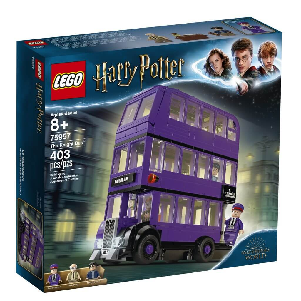 Potterish.com [Year 18] :: Harry Potter, The Ickabog, Fantastic Beasts, JK Rowling, Daniel, Emma & Rupert Hagrid's Hut and Knight Bus are part of new LEGO Harry Potter collection