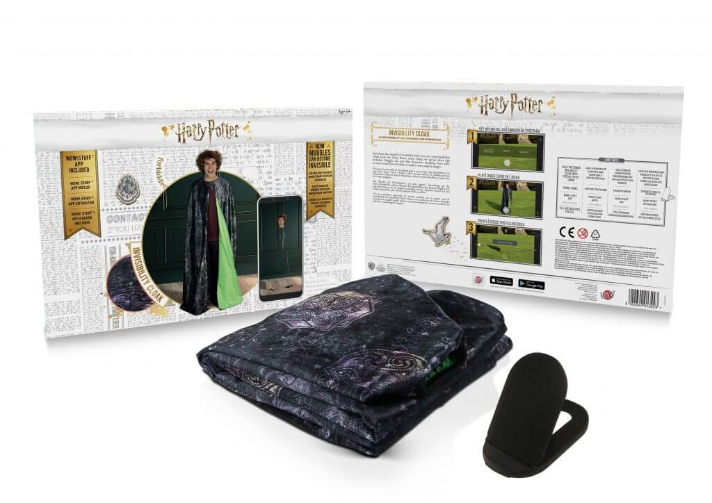 Potterish.com [Year 18] :: Harry Potter, The Ickabog, Fantastic Beasts, JK Rowling, Daniel, Emma & Rupert Harry Potter's Invisibility Cloak is released in the United Kingdom