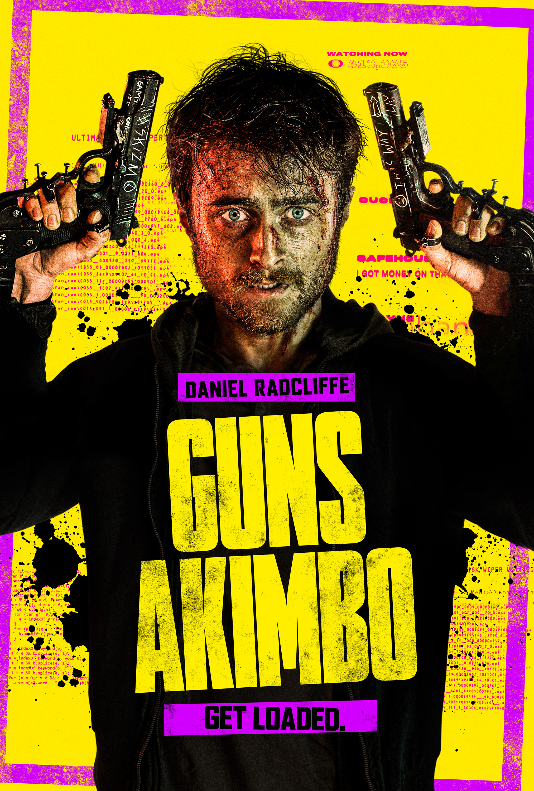 Potterish.com [Year 18] :: Harry Potter, Cursed Child, Fantastic Beasts, JK Rowling, Daniel, Emma & Rupert Daniel Radcliffe fights for his life in the trailer of Guns Akimbo, a film about gangues
