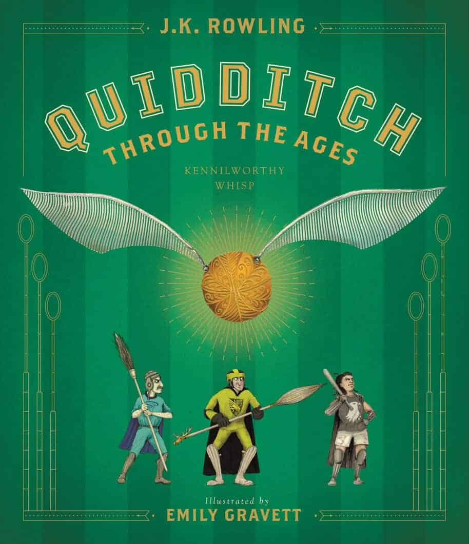 Potterish.com [Year 18] :: Harry Potter, Cursed Child, Fantastic Beasts, JK Rowling, Daniel, Emma & Rupert GALLERY: The illustrated version of Quidditch through the Ages gets cover and previews