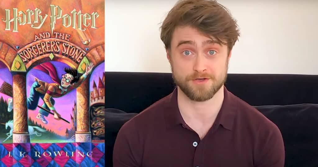 Daniel Radcliffe lê Harry Potter