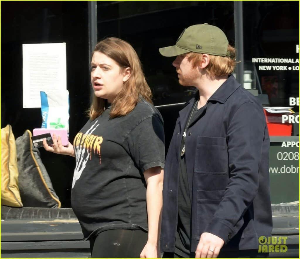 Potterish Nasce a 1ª filha do ator Rupert Grint, com a atriz Georgie Groome