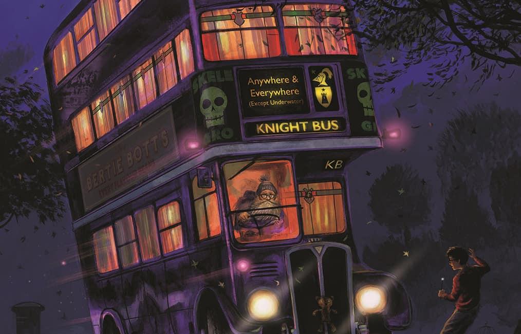 O Nôitibus Andante de Harry Potter na ilustração de Jim Kay