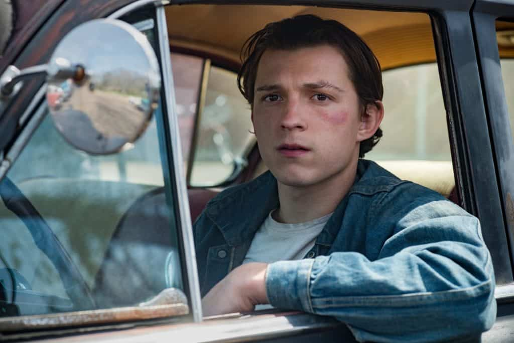 Tom Holland dirige um carro em filme com Robert Pattinson