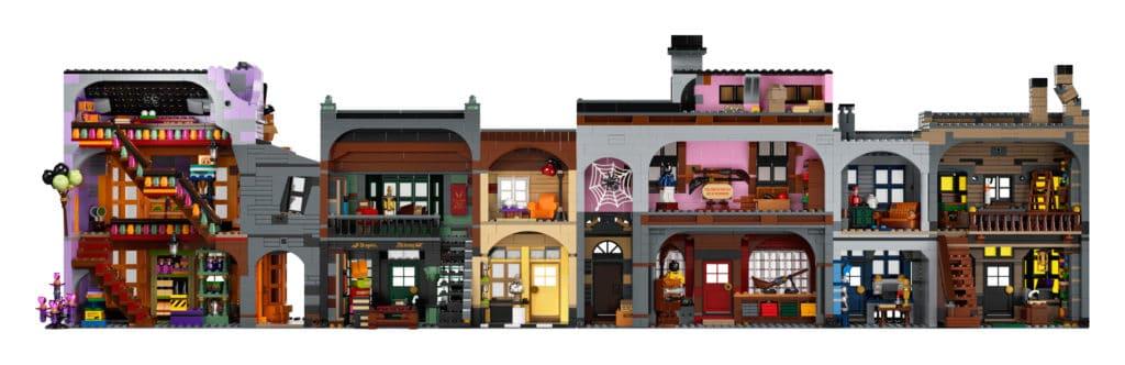 Novo set da LEGO Beco Diagonal