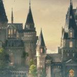 Pai e filho constroem maquete de Hogwarts usando doces