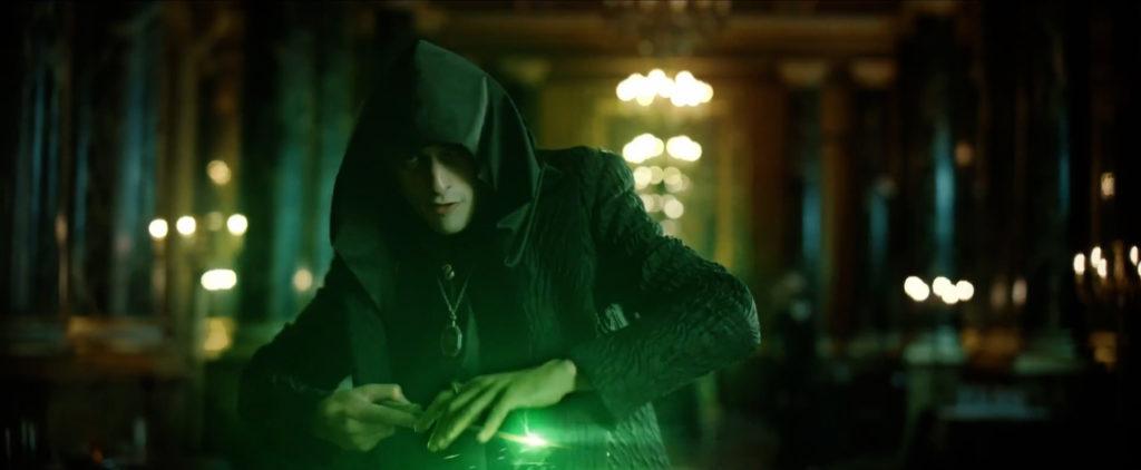 Tom Riddle em cena de fã-filme sobre a origem de Voldemort