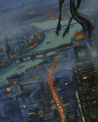 Londres na versão ilustrada de Harry Potter e a Ordem da Fênix